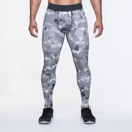 Wholesale skinny leg joggers - Men Sport Athletic Skinny Soccer Pants Legging Jogger Gym Mens Sweatpants Jogging Homme Trousers