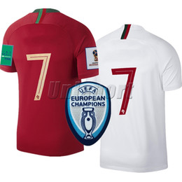 049d01279fd9a shirt football portugal Promotion Portugal Maillots de football de la Coupe  du Monde 2018 portugaises