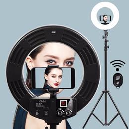 GVM Regulável Diva LEVOU Anel de Luz de Fotografia Kit de Iluminação 256 LED Lâmpada Anel para Maquiagem Fotografia Câmera Smartphone supplier diva makeup de Fornecedores de maquiagem diva