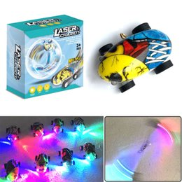 Múltipla Jogabilidade Laser Chariot 360 Graus de Rotação Stunt Car Com Luz LED de Alta Velocidade Brinquedo Da Criança Presente de Fornecedores de carros do besouro volkswagen