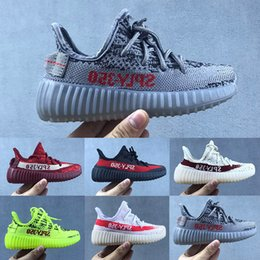 new arrival df7e1 935e9 kid boots 350 Rebajas Adidas yeezy boot 350 2018 nuevos niños baratos del  bebé Kanye West