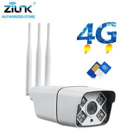 Caméra carte sans fil wifi sans fil de 3g en Ligne-1080P HD 3G 4G Carte SIM Sans Fil Wifi IP Caméra 960P Extérieure Sécurité Étanche CCTV Détection de Mouvement IR Vision Nocturne CamHi