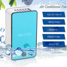 Wholesale Product Holding - Buyruo New style product upgrade Mini portable hand held desk air conditioner humidification cooler cooling fan