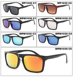 Wholesale Good Film - 2018 High-quality Fashion Color Film Square Sun Sunglasses Good-Looking PC Frame UV400 Sunglasses For Men Mixed Batch