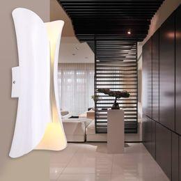 Canada LED Intérieur Applique Mur Double-Headed Extérieur NightLight Porte Post Balcon Up Down Éclairage Extérieur Décoration En Gros Dropship Offre