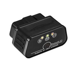 gm mdi cable Promotion Bluetooth 3.0 OBD2 Scanner, Android et Windows dédié OBD II outil de diagnostic de voiture avec interrupteur sommeil automatique et gratuit professionnel APP