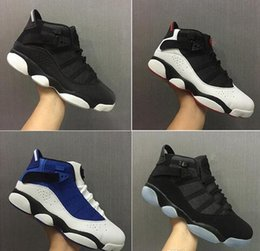 Wholesale Boots Ring - 2017 New Mens 6 VI Rings Six Crowns High Quality 6s basketball Shoes outdoor Sneakers Sports Running Men Trainers Boots