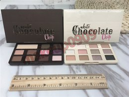 Wholesale Real Eyes - Matte chocolate chip eyeshadow Palette 11 colors Makeup Professional White Chocolate Chip Eye Shadow high quality real photo have in stock