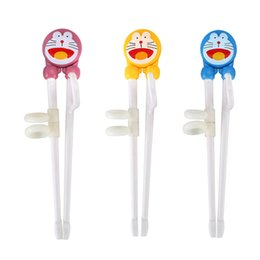 Wholesale Kid Chopsticks - 1 Pair Learning Training Chopsticks For Kids Children Chinese Chopstick Learner Gifts for Home Dinnerware Tableware MAYITR
