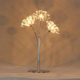 2019 lotus lumière bouddha Lampes de table en cristal de conception moderne fantaisie AC110v 220v lustre LED table s'allume éclairage à la maison livraison gratuite