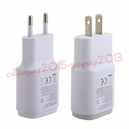 Wholesale nexus wall charger - 5V 1.8A Eu US Wall Charger Adapter for LG G2 G3 F400 F460 D855 G2 F260 Nexus 5 E980 power adapter for samsung android phone