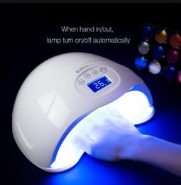 2019 esmalte de secagem rápida SUN5 Plus Display Temporizador de Secagem Rápida 48 W UV LED Lâmpada Prego Com Secador de Unhas de Sensor de Cura Ferramentas de Unhas para Todos UV Gel Polonês EUA REINO UNIDO DA UE AU Plug esmalte de secagem rápida barato