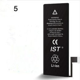 Wholesale Cycle Tools - 2017 100% Original Phone Battery For iPhone 5 Battery 1440mAh Real Capacity 0 Cycles With Repair Tools Kit Battery Sticker