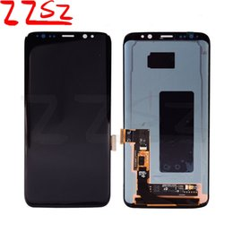 Wholesale Free Tests - Original 100% Tested LCD Display Touch Screen Digitizer Replacement Part For Samsung Galaxy S8 G950 G950A G950F G950T G950V free DHL