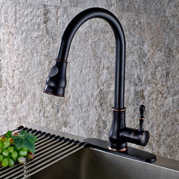 Wholesale antique dishes - Rotated mixer tap kitchen basin faucet vintage,Brass sink basin faucet hot and cold, Oil Rubbed Bronze dish antique