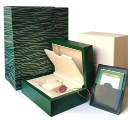 2019 наручные часы магазин Супер качество топ роскошные часы Марка зеленый оригинальный футляр документы мужские подарочные часы коробки кожаный мешок карты 0.8 кг для Rolex часы футляр скидка наручные часы магазин