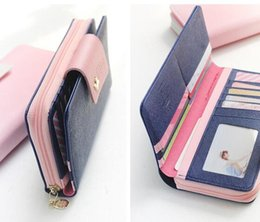Wholesale Mobile Phone Trading - New foreign trade explosion models Korean version Hasp wallet Fashion mobile phone package