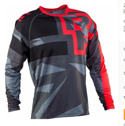 Wholesale army bike jersey - 2018 Off road ATV Racing T-Shirt 2017 AM RF Bicycle Cycling Bike downhill Jersey motorcycle Jersey motocross MTB DH MX jersey R