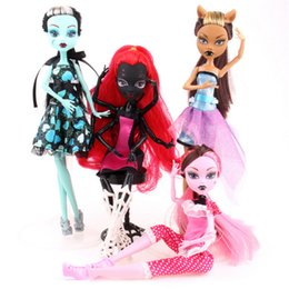 Wholesale Funny Activities - MiRabbit 4pcs lot High quality monster doll Funny Joint activities gift Wholesale fashion dolls for kids special dolls present
