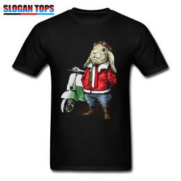 9c00ae72167 Discount rabbit tee shirt - Tops Tees Mens Tshirts Moto Biker T Shirt Vespa  Rabbit Cute