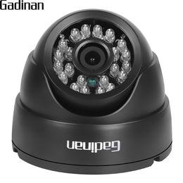 Wholesale Home Security Dome Cameras - GADINAN 2.8mm Lens Wide Angle 1 3'' CMOS 1000TVL IR-CUT Night Vision Dome CCTV Camera Home Security Surveillance ABS Housing