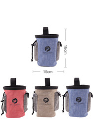 Wholesale Pet Food Containers - 3styles Pet Food Training Pouch Dog snack Puppy Walking Treat Snack Bag Dispenser Waist Storage Food Container Bag FFA319 30pcs