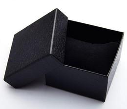 braccialetti di evento all'ingrosso Sconti 18pcs / lot poco costoso scatola di vigilanza di carta nera del modello di Lichee a buon mercato con la vigilanza di logo del braccialetto / della scatola di braccialetto / braccialetto del braccialetto di evento su ordinazione