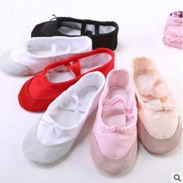 12856ffaec3 danza de cuero Rebajas Zapatos de baile de ballet para niños grandes Zapatos  de baile de