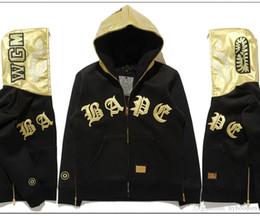 giacca di pelle cappuccio a colori Sconti Felpa con cappuccio in pelle con cappuccio e cappuccio da uomo in pelle color oro da uomo con cappuccio e cappuccio in pelle color oro da uomo