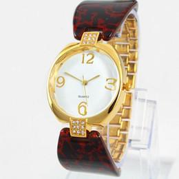 Wholesale Student Dresses - 2018 Luxury women watch Brand student luminous Lady wristwatch Fashion Dress golden Watch Quartz Clock for party special design round face