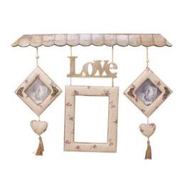Hogares imágenes online-Retro Wall Hang Pictures Frames Household Decor Fotos de fotos La decoración de la boda y la celebración