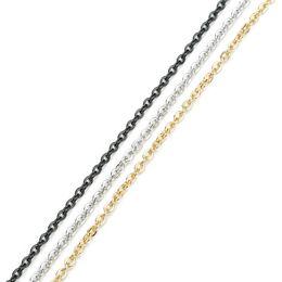 10meter in bulk Stainless Steel 1.5//2//3mm Wire Link chain Jewelry Findings DIY