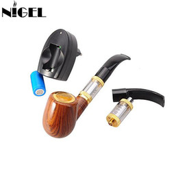 cool vape mod Promotion Nigel Cool E PIPE 618 Détachable 900mAh Kit de Tuyau de Cigarette Électronique avec 2.5 ml Réservoir de Chauffage Atomiseur Vape Mod Pipe