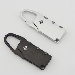 Wholesale Bag Combination - 4Cross Combination Safe Code Number Lock Padlock For Luggage Zipper Bag Suitcase Drawer Cabinet Password Locks 1 4qs Z