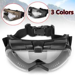 2019 ventilador de nebulização Tactical Anti-fog Anti-poeira óculos de proteção óculos de proteção Eyewear com ventilador regulador Segurança Eye Protection para Paintball ventilador de nebulização barato