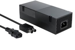xbox one power Desconto Adaptador de alimentação AC para XBOX 360 ONE adaptador de jogo fino acessório 100V-240V adaptador AC carregador de energia rápido envio de fábrica Preço de fábrica LLFA