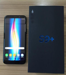Wholesale Goophone Micro Sim - Goophone 6.2inch S9+ S9 plus Quad Core Android 1GB 8GB Show fake 4GB RAM 64GB ROM Fake 4G LTE Unlocked Smartphone Cell Phone DHL Free