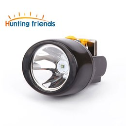 Wholesale led mining headlight - Hunting Friends Wireless Mining Light KL3.0LM Waterproof LED Headlight Explosion Rroof Cap Lamp Rechargeable Mining Headlamp