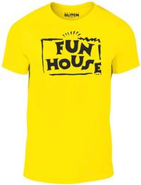 Casual haus kleider online-Details zu Fun House T-Shirt - Lustiges T-Shirt Retro 80s 90s Spiel Show Witz Fancy Dress cool Casual Funny versandkostenfrei Unisex T-Shirt Geschenk