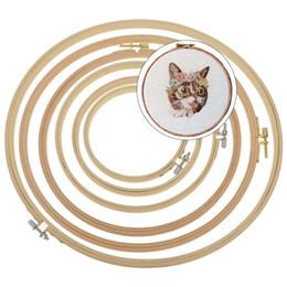 Set di anelli di cerchio di ricamo di bambù Set di telaio di cerchio per fai da te punto croce Needlecraft strumento di cucito per la casa supplier ring frame da cornice anello fornitori