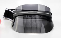 Transparente sonnenbrille online-MOQ = 2 STÜCKE SOMMER frauen leere hut strand Uv schutz MANN mode sonnenhut Radfahren Transparent im freien FAHREN CAP Sonnenbrille freies verschiffen