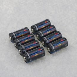 батареи cr123a Скидка Одноразовая батарея 8PCS / lot TrustFire CR123A 123A 3V 1400mAh Одноразовая литиевая батарея для камеры / проигрывателя видеоигр (не заряжается)
