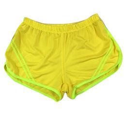 Wholesale Professional Workout - Professional Women Shorts Cotton Nylon Sport Summer Workout Elastic Waist Clothes Female Yoga Breathable Short Feminino