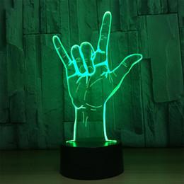 светодиодный 3w мини-раунд Скидка Бесплатная доставка оптическая иллюзия свет акриловая панель 7 цвет Лучший подарок ночь светодиодные лампы стол настольное освещение спальня украшения