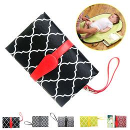 Portable bébé pliant couche à langer tapis imperméable tapis sac de fantaisie de stockage de voyage S7JN ? partir de fabricateur