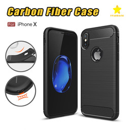 Wholesale Galaxy Plus - Rugged Armor Case for iPhone 8 Plus iPhone X Samsung Galaxy Note 8 S9 Plus Anti Shock Absorption Carbon Fiber Design
