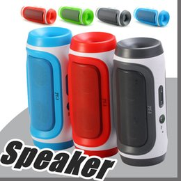Wholesale Wholesale Speakers Subwoofers - JY-3 Bluetooth Wireless Speaker Elliptical Round Portable Subwoofers Handsfree Stereo Speakers With Mic TF Card Phone Answer G-YX