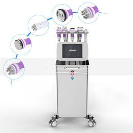 Maquina de radio frecuencia profesional online-Uso profesional del salón 40K Cavitation RF que adelgaza la máquina Cavitation Vacuum Therapy Radio Frequency Skin que aprieta la máquina