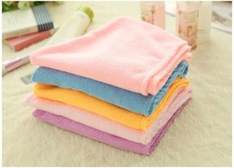 Wholesale Hair Drying Turban Towels - Microfiber Magic Hair Dry Drying Turban Wrap Towel Hat Cap Quick Dry Dryer Bath makeup towel wen5085