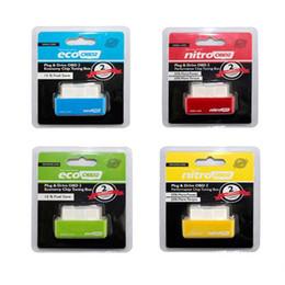 universeller schlüsseltransponder Rabatt Antrieb Eco Drive Nitro OBD2 OBD II Wirtschaft Chiptuning Box Für Benzine Diesel Diagnosewerkzeug Live Daten Scan-Tool
